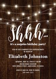 surprise birthday party invite surprise party invitations zazzle