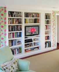 Built In Wall Shelves Built In Bookshelves Design Ideas Projects To Try Pinterest