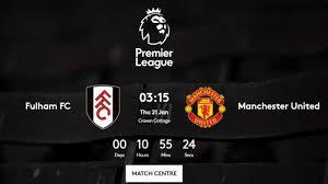 Последние твиты от manchesterutd (@jadwal_mu). Man Utd Vs Fulham Fulham 0 3 Man Utd Live Score Paul Pogba And Anthony Latest Team News And Stats
