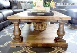 barade coffee table ana white