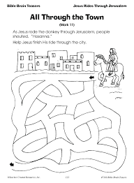 Palm Sunday Coloring Pages Palm Sunday Coloring Pages Activities For