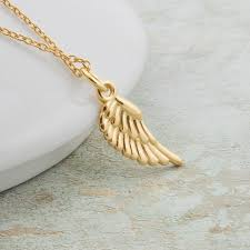angel wing necklace guardian angel wing