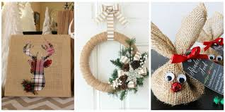 This year, embrace the simple, rustic elegance of DIY burlap Christmas  decorations.