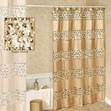 pink and gold shower curtain ideas with white and gold shower curtain