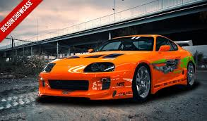 Toyota Supra Fast And Furious Green - image #132