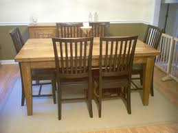 Standard Kitchen Table Sizes Natures Pine Furniture Lingo Standard Dining Tables