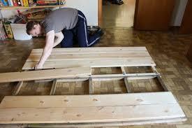 handmade wooden headboard