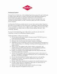 Hvac Cover Letter Inspirational Sample Entry Level Technician Resume