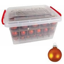Glas Weihnachtskugel Set 72tlg Box Weihnachtsbaumkugeln Christbaumschmuck Deko