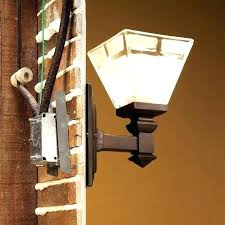 exterior light fixture box outdoor electrical box for light how to install electrical box for ceiling