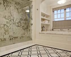 master bathroom shower tile. Bathroom With Marble Shower Tiles And Drop In Tub Master Tile