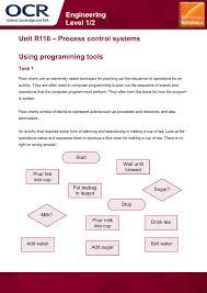 Unit R116 Using Programming Tools Lesson Element