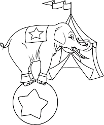 tent coloring page watching circus elephant show coloring pages best place circus tent coloring pages printable