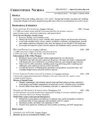 Law School Admissions Resume