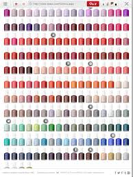 Essie Color Chart In 2019 Essie Colors Nail Colors