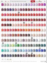 Essie Color Chart Essie Color Chart In 2019 Essie Colors Nail Colors