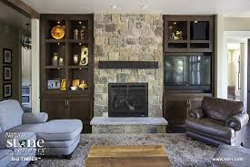 cliffton ledge fireplace 2 big timber residential fireplace1