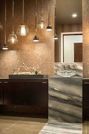 bathroom lighting pendants. Mix And Match Pendant Light Styles Finishes At Differing Heights For A Contemporary Feel. Bathroom Lighting Pendants