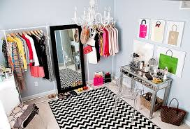 Not only is her blog title cute and clever but her budget DIY dressing room  is full of stylishly chic traits any fashionista would adore.