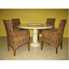 set co with onyx round table