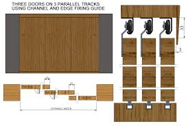External Sliding Door Track System - Exterior door thickness