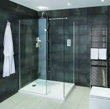 Walk In Shower Enclosure Aqata Spectra Walk In Shower Enclosure With Hinged Panel Sp425