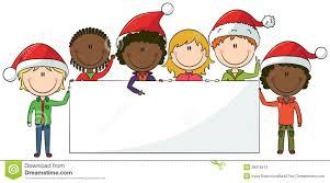 Christmas For Kids Christmas Kids And Banner Stock Photo Image 26951900