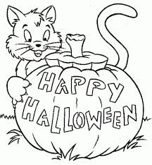 Coloring Pages Halloween With Halloween 2016