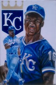 bo jackson 20 x 30 inch oil on canvas painting