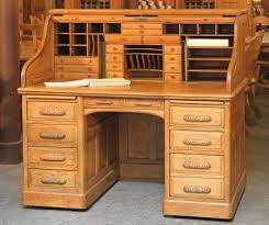 stunning natural brown wooden diy corner desk. Photo Of A Large Roll-top Desk. Stunning Natural Brown Wooden Diy Corner Desk
