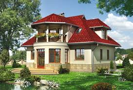 house with bay window. Wonderful Bay Threedimensional Design Twostorey Country House With A Bay Window For House With Window H
