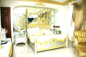 White And Gold Room Decor Black Themed Bedroom Decorations Large ...