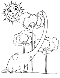 Small Picture 25 Dinosaur Coloring Pages Free Coloring Pages Download Free