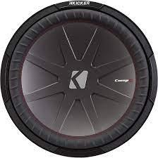 Amazon.com: KICKER 43CWR124 12 Inch 1000 Watt 4 Ohm DVC COMPR Car Audio  Stereo Subwoofer : Electronics