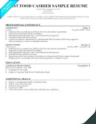 Fast Food Restaurant Manager Resume Fast Resume Template