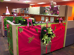 images office cubicle christmas decoration. Image Of: Office Cubicle Christmas Decorating Ideas Within Make Your Images Decoration A