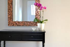 Honey Sweet Home Penny Tiled Mirror Recent Features