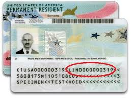 green card number explained in simple