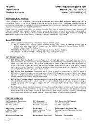1 | P a g e Resume of Trevor Quick RESUME Email:wtquick@bigpond.com ...