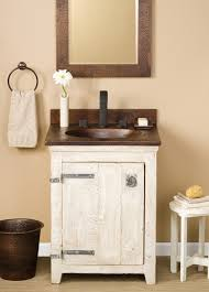 24 bathroom vanity without top. 24 inch single sink bath vanity in whitewash with a copper top bathroom without