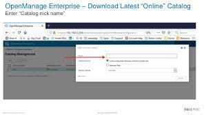 Dell Emc Openmanage Enterprise 3 2 Server Firmware Updating