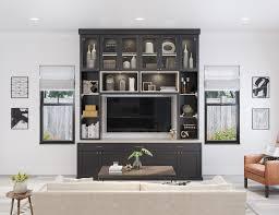 Media Closet Design Built In Entertainment Centers Media Cabinets California