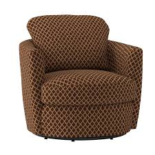 com coaster casual brown upholstered swivel accent chair kitchen dining