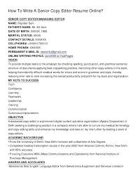 how to write a really good resumes examples of good resumes for college students copies format editor