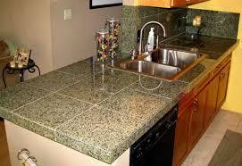 tile countertops. Delighful Tile Finished Granite Tile Countertop Throughout Tile Countertops