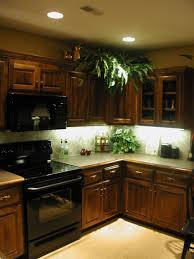 Lights Under The Kitchen Cabinets Kitchen Under Cabinet Lighting Options Countertop Lighting Ideas