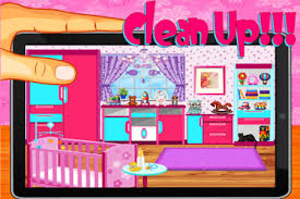 Baby Room Cleaning Games