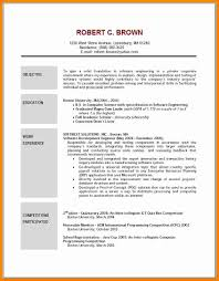 Resume Example Objective 8 Cv Sample Objective Theorynpractice