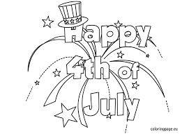 Small Picture 4th Of July Hat Coloring Pages GetColoringPagescom