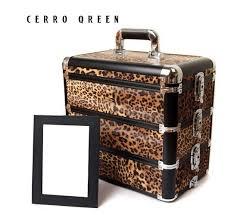 victoria s secret white gold cheetah print makeup bag cosmetic
